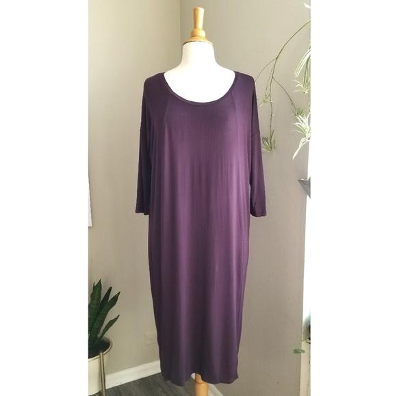 Aritzia Dresses & Skirts - Babaton | Long Sleeve Tee Dress